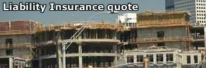Town with liability insurance quote
